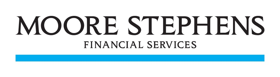 MS Financial Services Black Text no background